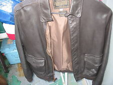 A-2 leather pilot jacket size 42 reg bomber jacket