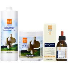 Ever Ego Garlic Shampoo + Mask 33.8oz + Nequal Lotion 4.22oz w/Free Nail File