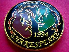1994 DU MONDE PLAYS SHAKESPEARE Multi-Color Mardi Gras Doubloon