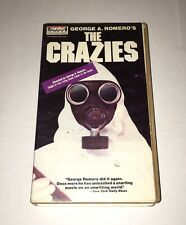 THE CRAZIES - Rare Horror VHS - Vista Home Video Clamshell - George Romero 1973