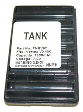 1800mAh Battery ft YAESU FNB-V57 FNB-83 FT-60 VX-150 VX-160 VX-180 VX-800 FT-250