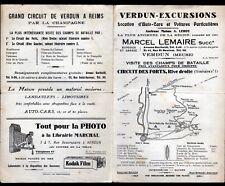 """VERDUN (55) AGENCE de VOYAGE / EXCURSIONS en AUTOBUS """"A. LEROY / Marcel LEMAIRE"""""""