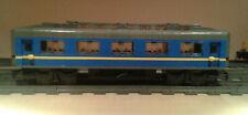 LEGO® City Eisenbahn blauer Salonwaggon XL deluxe MOC bricktrain