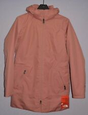 The North Face Women Ancha Insulated Waterproof Hooded Parka Mahogany Jacket  M