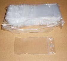 500 Tütchen Polybeutel 100 x 150 Druckverschluss Druckverschlussbeutel Zip Tüten