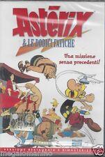 Dvd **ASTERIX E & LE DODICI FATICHE** vers. restaurata rimasterizzata nuovo 1976
