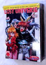 LOST UNIVERSE n. 1-6 SERIE COMPLETA Planet Manga 1999 Yoshinaha-Hanzaha SLAYERS