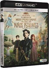EL HOGAR DE MISS PEREGRINE ULTRA HD BLU RAY 4K + BLU RAY NUEVO ( SIN ABRIR )