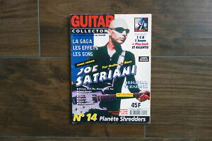 Magazine Guitar Collector's numéro 14 Joe Satriani
