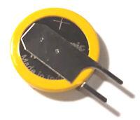 Panasonic ML1220 3V Pila Bios Batteria Ricaricabile Rechargeable Battery 2 Pin