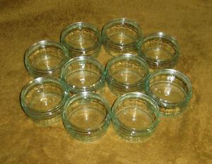 10 x Empty Glass Ramekin GU dessert Pots