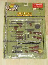 "Ultimate Soldier 1/6 12"" WWII US M1928 Submachine Gun Set (Tommy Gun) New Sealed"