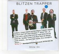 (FB434) Blitzen Trapper, Shine On - 2013 DJ CD