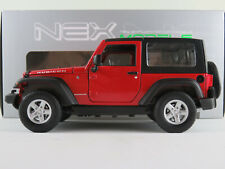 Welly 22489W Jeep Wrangler Rubicon (2007) in rot/schwarz 1:24-27 NEU/OVP