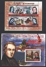 Togo 2010 - 200. Geburtstag von Robert Schumann - Komponist - Zwickau - Klavier