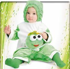Costume RANOCCHIETTO vestito tutina di carnevale rana 6-12 mesi
