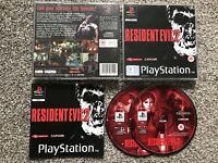 RESIDENT EVIL 2 SONY PLAYSTATION 1 PS1 PS2 PS3 GAME WITH MANUAL OFFICIAL UK PAL