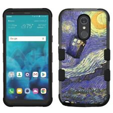 for LG Stylo 4 Armor Impact Hybrid Cover Case Van Gogh Doctor Who #DW
