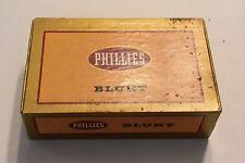 Vintage Phillies Blunt Cigars Box