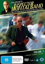 INSPECTOR MONTALBANO - VOLUME 3 (2 DVD SET) BRAND NEW!!! SEALED!!!