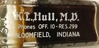 K. L. Hull M. D. & Dr. H. D. Turner Bloomfield Indiana Tonic For Nerves w/ Label