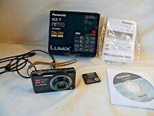 Panasonic Lumix SZ7 Digital Camera 14.1 MP With Battery 10X  For Parts Or Repair