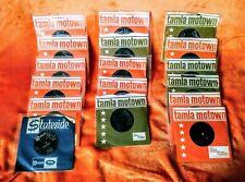 "17 TAMLA MOTOWN 7"" VINYL SINGLES (LISTED) COLLECTION / LOT"