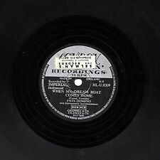 FATS DOMINO 78 quand mon inoffensif Comes Home/so long uk london HLU 8309 EX