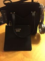 $110 Bryanna Small Satchel With Pouch Black C5