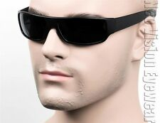 Cholo Gangster Sunglasses Super Dark OG LOC Style Lowrider Black Matte 18SD