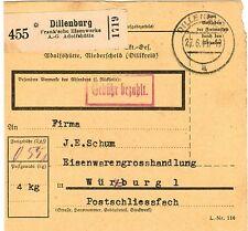 Echte Briefmarken aus dem deutschen Reich mit Briefstück