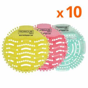 10X Scented Screen Urinal Wave Pad Toilet Deodoriser Air Freshener Fragrance Mat