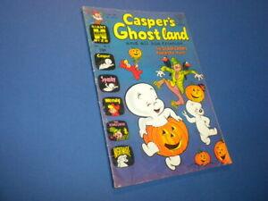 CASPER'S GHOSTLAND 16 Harvey Giant Size Comics 1963 tv Casper the Friendly Ghost