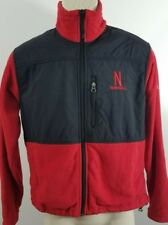 Nebraska Huskers Columbia women's coat jacket full zip medium 623