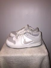 Nike sz 6.5 Youth Dunk Patent Leather/suede Shoes 318978-105