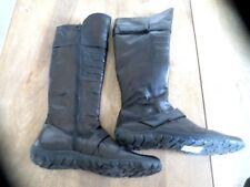 Bottes cuir Ilario Ferrucci cuir noir scratch Valeur 169E NEUVE Pointure 40