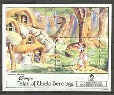 Walt Disney, Scrooge, Goldilocks - St.Vincent Grenadinen - 1 Bl. ** MNH 1992