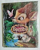 ALBUM BAMBI + SET COMPLETO FIGURINE STICKERS NUOVE EX SIGILLATO PANINI