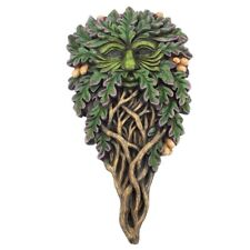 Nemesis Now All Seeing Oak Wall Plaque 18cm Green
