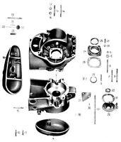 IFA / MZ BK 350 NEU - >27 Motor Schrauben Set 17< Normteile Satz NEU