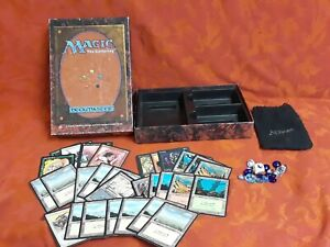 Mtg 1995 gift set + 1994 fbb land blood lust llanowar elves Magic the Gathering