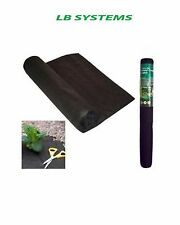 WEED CONTROL FABRIC 1.5M X 8M GARDEN STRONG DURABLE WITHOUT CHEMICALS