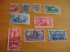 Italien, 1926, 1930, 1932, diverse Michelnummern, gestempelt