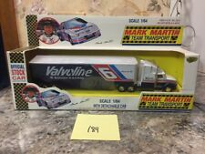 New Road Champs 1:64 Scale Diecast Mark Martin Team Transport W/ Detachable Cab