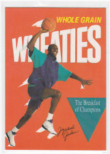MICHAEL JORDAN WHEATIES  NBA CARD