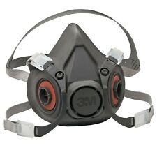 3M 6300 Half Facepiece Reusable Respirator, Respiratory Protection Size LARGE