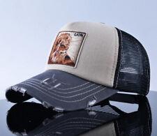 LION Jungle King Baseball Cap Sun Hat Snapback Hip Hop Gift Summer Funny Gorras