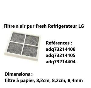 adq73214408 - Filtre a air pur fresh Refrigerateur LG