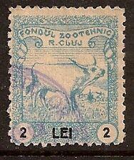 ROMANIA 1925 CLUJ REVENUE PRIVAT OVERPRINT USED