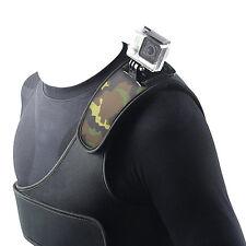 New Single Chest Belt Shoulder Strap Mount For Gopro HERO 2 3 3+ 4 Sports Camera